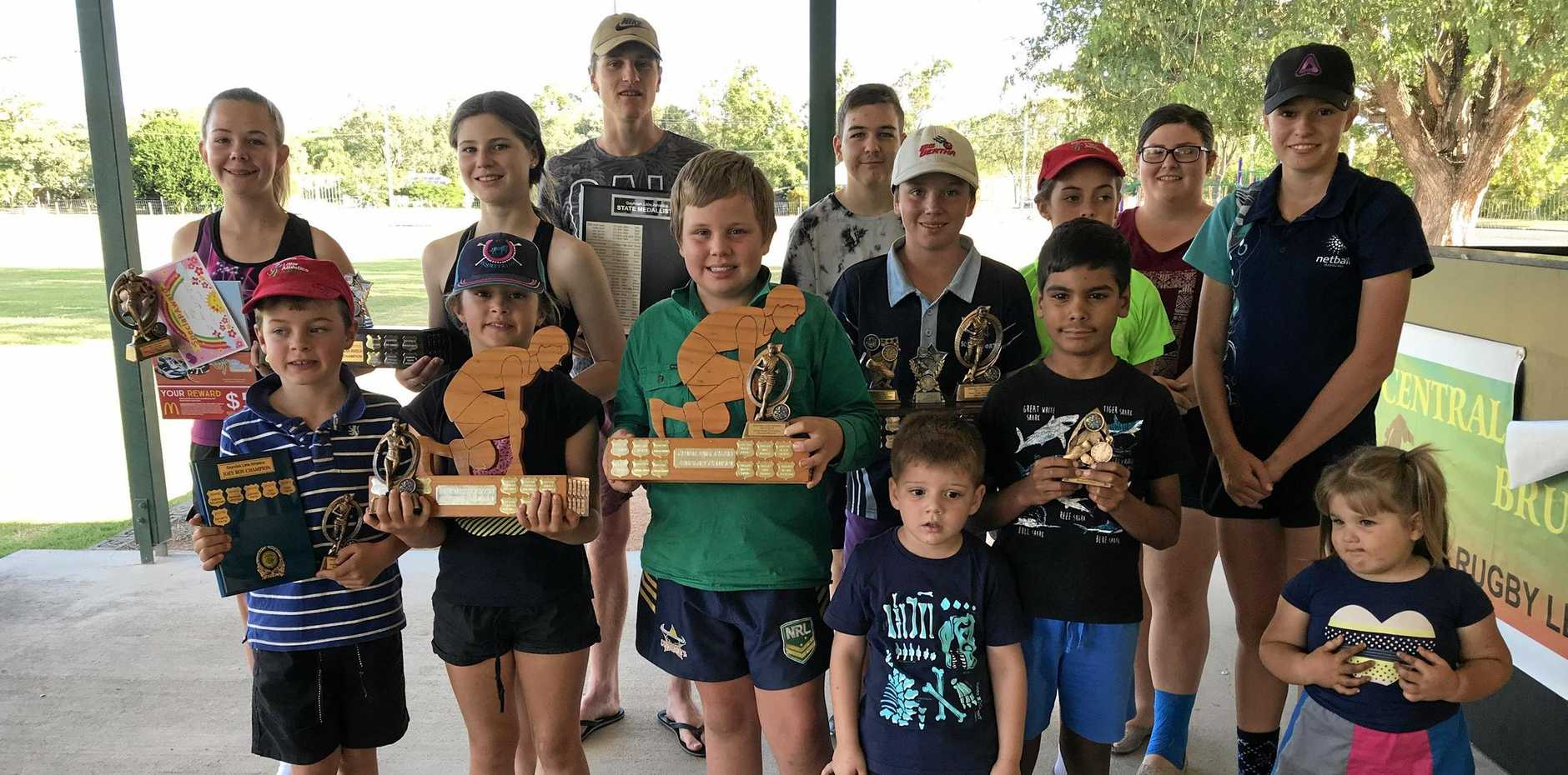 FUNDS: Gayndah Little Athletics received a grant for new equipment.