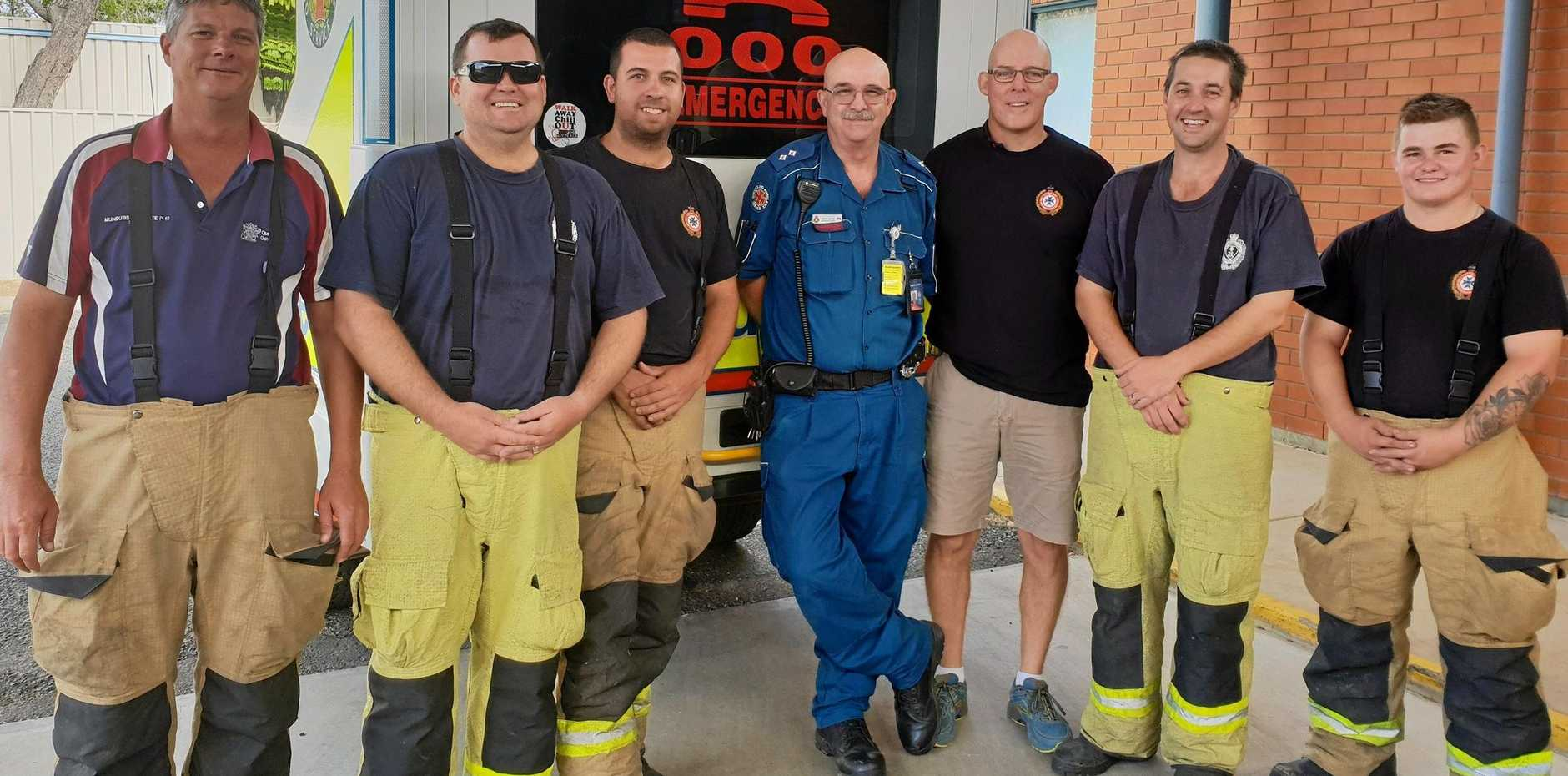 THANKS: Mundubbera paramedic Steve Smith is proud of the relationships QAS formed with other emergency services during his tenure.