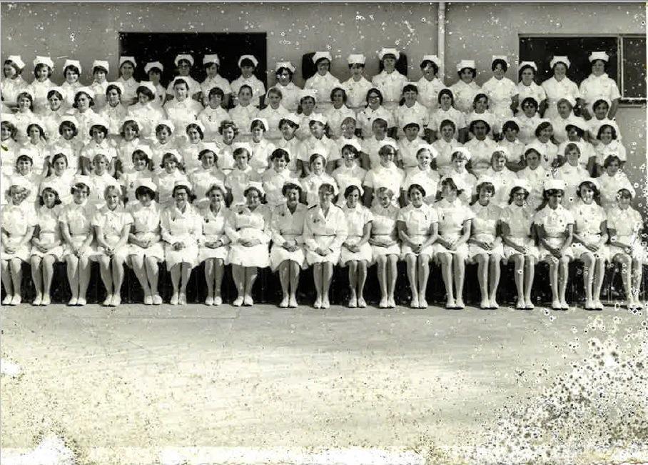 MYSTERY: This photograph of nurses was found by Mark Magisana along River Rd, Kingaroy.