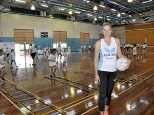 Young netballers learn to fly