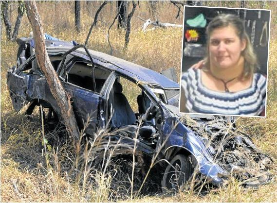 BEHIND BARS: Connie-Lee Williams will have to serve 80 per cent of her nine-year jail sentence for killing her son and her partner in a crash near Gin Gin while she was high on meth.