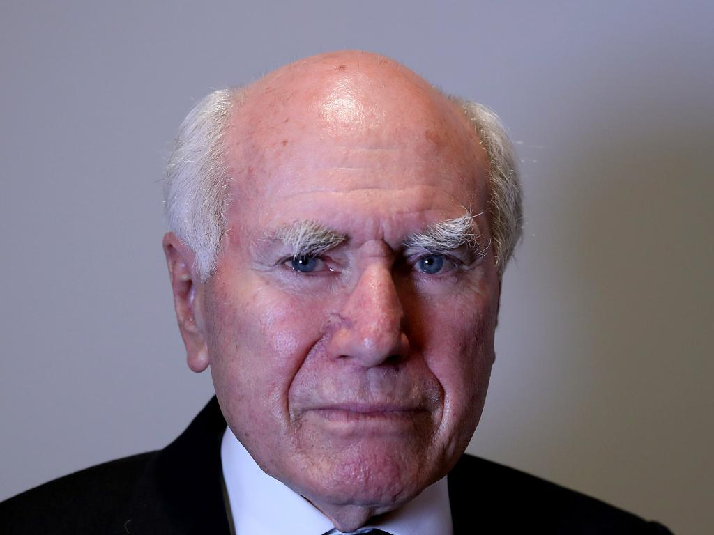 Former PM John Howard is backing Cardinal George Pell. Picture: Kym Smith