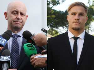 NRL stand down de Belin after landmark meeting