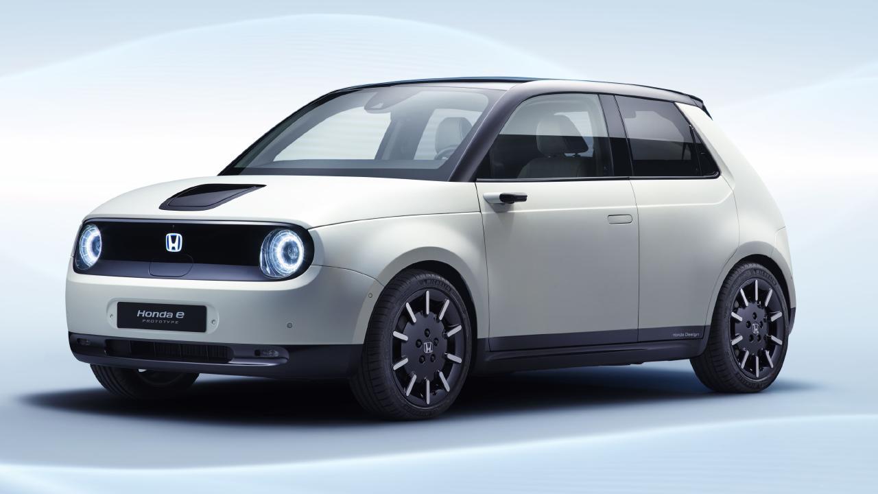 Honda e Prototype electric car.