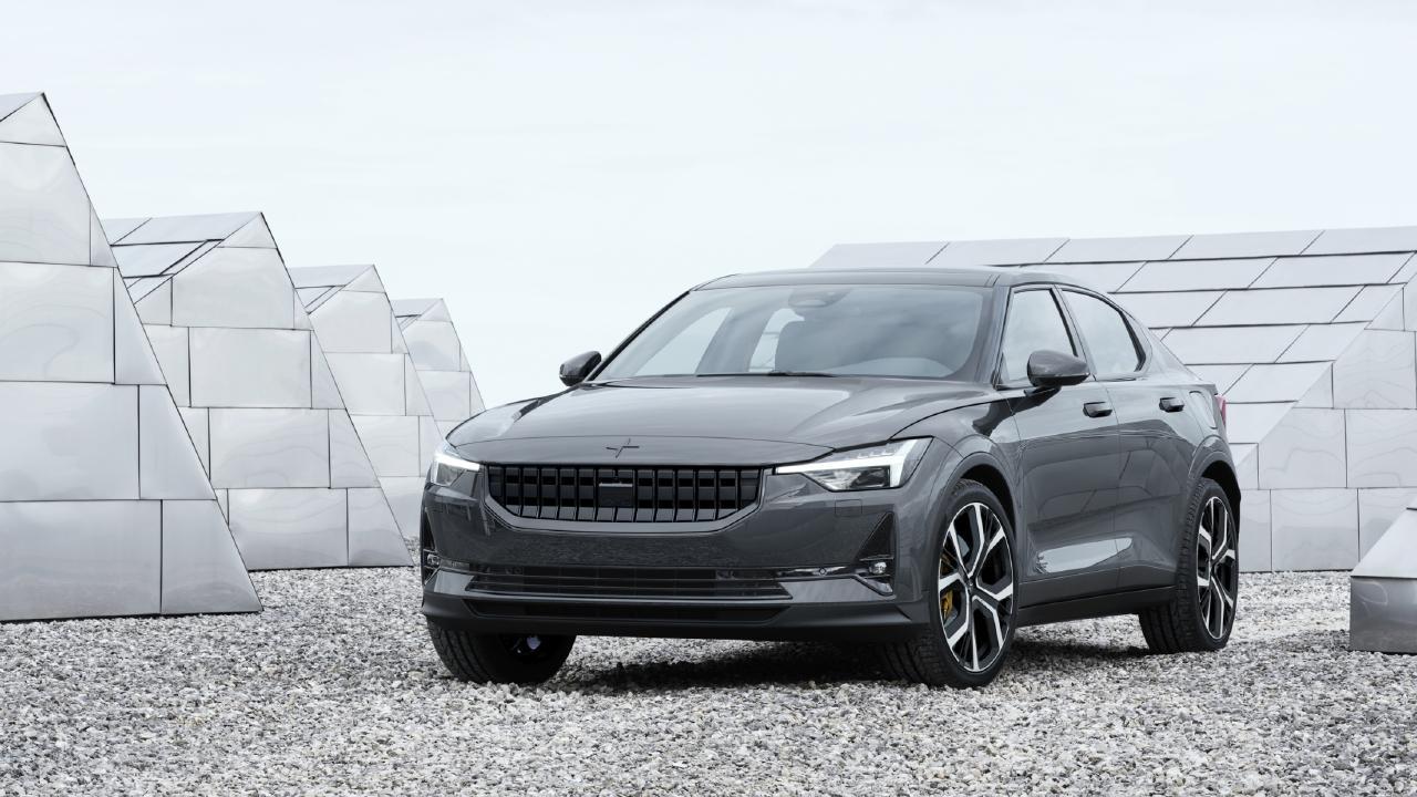 Volvo has unveiled its Polestar 2 ahead of a public debut in Geneva.
