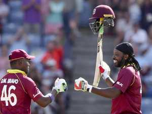 Gayle lights up Grenada, England claims fourth ODI