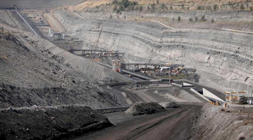 BHP Billiton Mitsubishi Alliance (BMA) Broadmeadow underground coal mine in the Bowen Basin.