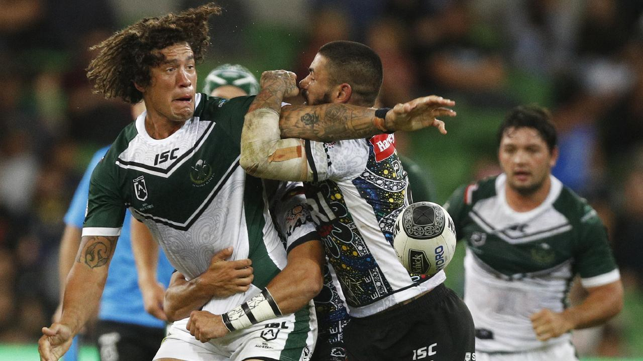 Kevin Proctor in action for the Maori All Stars on February 15. Picture: AAP Image