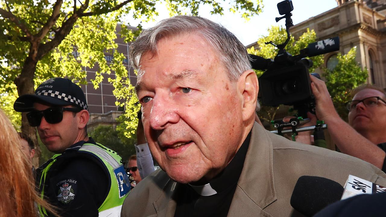 George Pell was found guilty of molesting two choir boys in 1996. Picture: Michael Dodge/Getty Images
