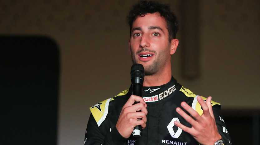 Daniel Ricciardo is keeping expectations in check.