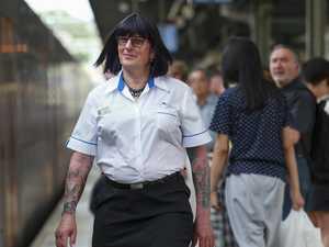 Transgender transport officer Britt finds ticket to freedom