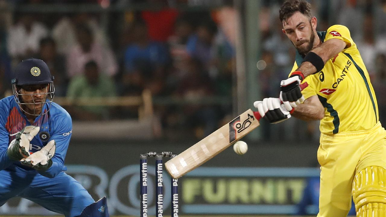 Glenn Maxwell leads Australia to victory with epic innings (AP Photo/Aijaz Rahi)