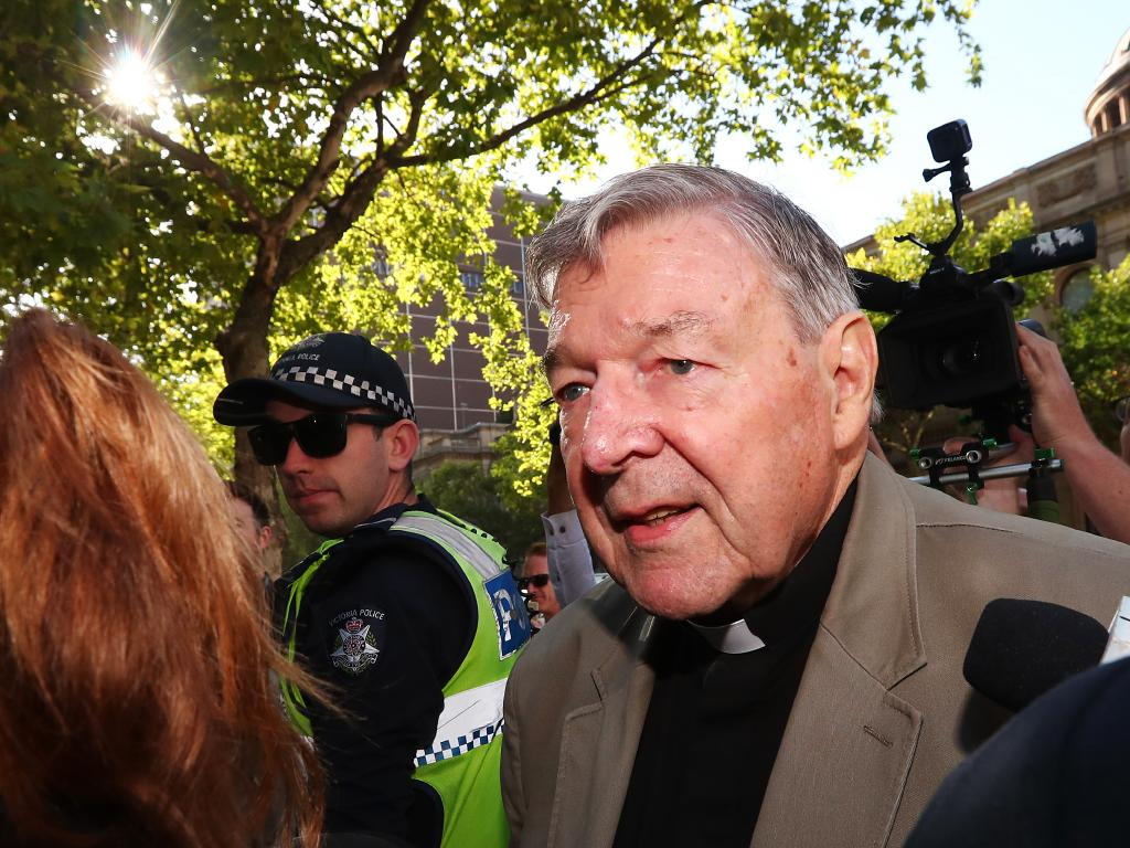 Cardinal George Pell has spent his first night in prison as he awaits sentencing. Picture: Michael Dodge/Getty Images
