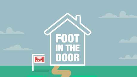 Welcome to Foot in the Door, news.com.au's new series on first-home buyers. Source: News Corp Australia
