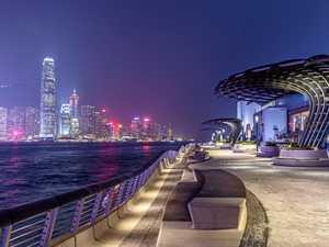 Hong Kong reopens harbourside Avenue of Stars