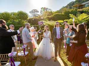 Hinterland wedding dream comes true