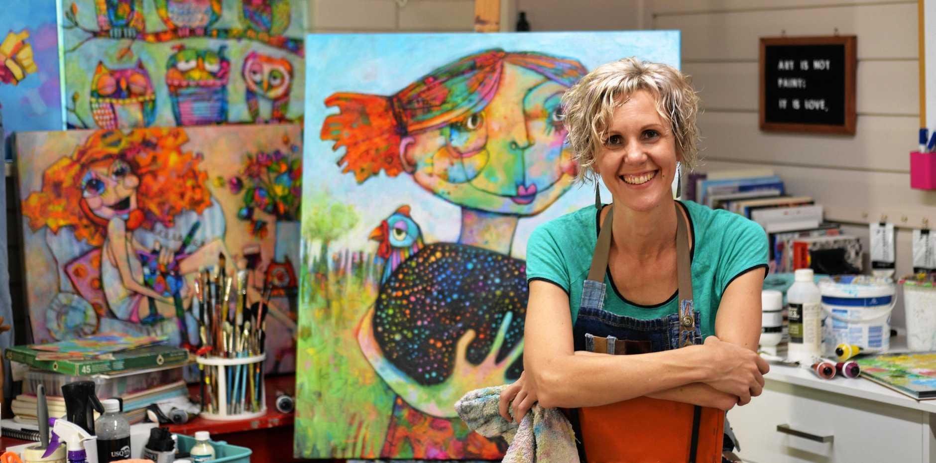 ART SHOW: Teresa Mundt is set to exhibit her work at the Glennie Community Art Show.