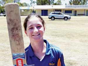 Young gun scores ton in 80 balls against the women