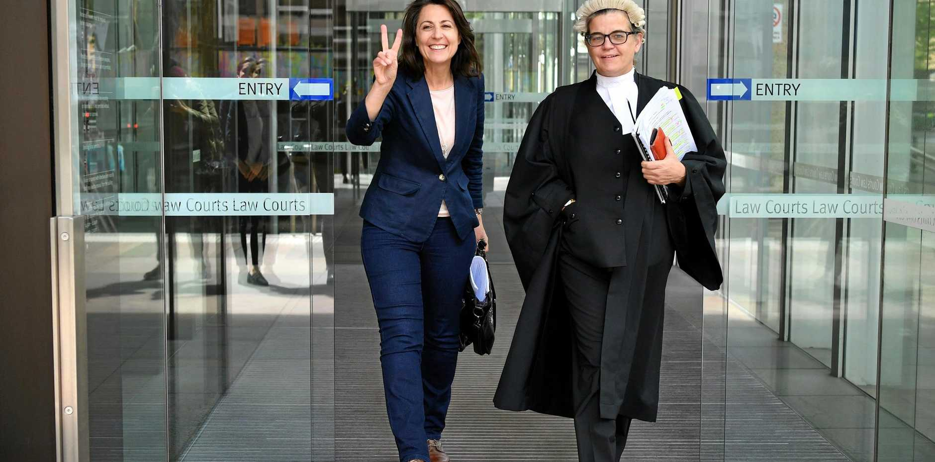 FURTHER HEARING: A court will hear whether Serge Benhayon's law firm's conduct toward Esther Rockett (left) would constitute a referral to the Office of the Legal Services Commissioner.