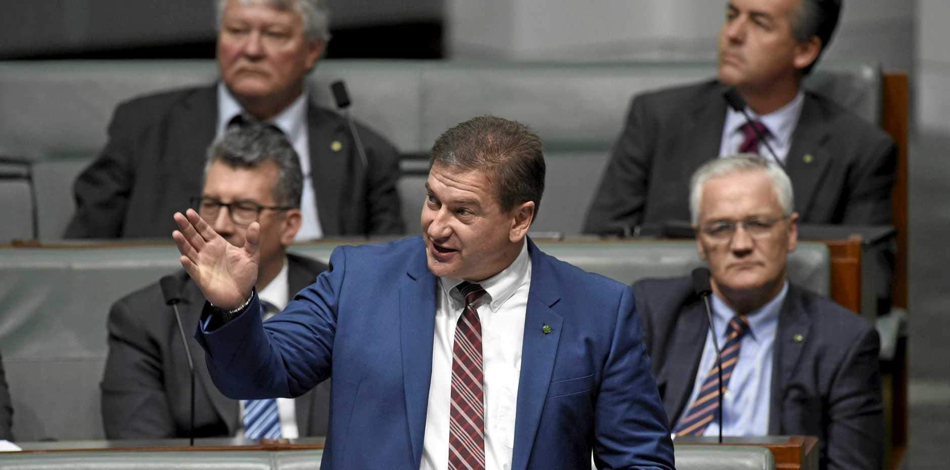 Wide Bay MP Llew O'Brien