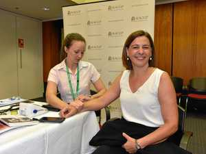 MPs make time to look after health