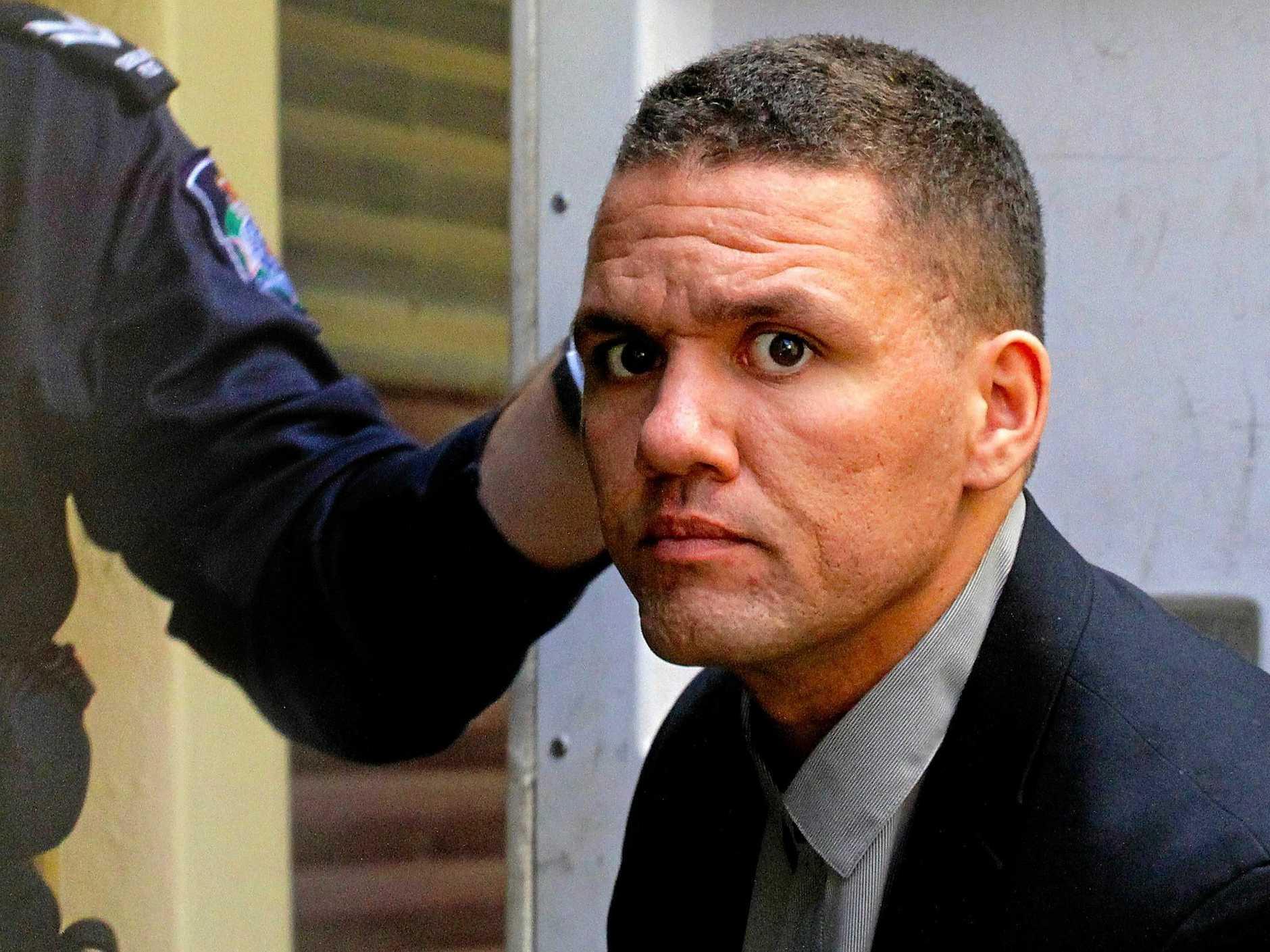 Baby killer Ry Liam Smith at Maryborough Magistrates Court.