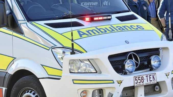 BYPASS CRASH: Two cars, truck and kangaroo collide