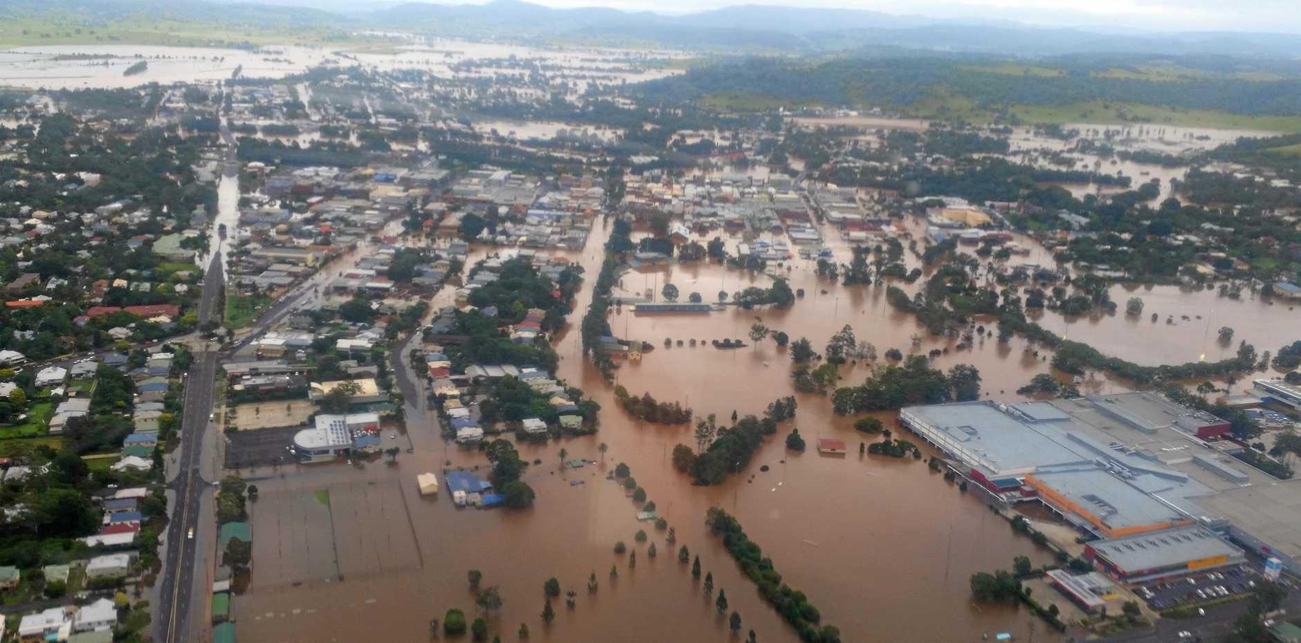 Lismore Flood, March 2017.