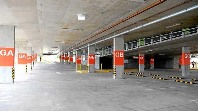 Rocky Hospital carpark.