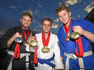 Gympie's nine-medal haul in brazilian jiu-jitsu