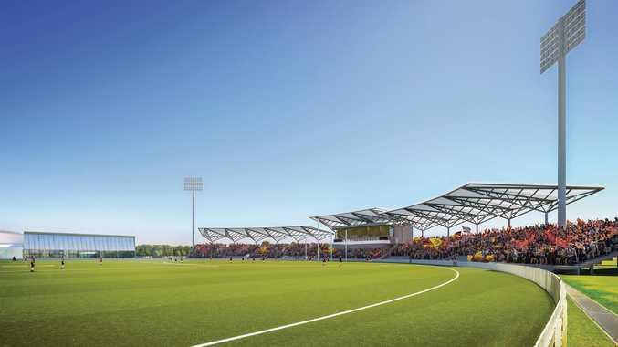 Harrup Park Stadium Development designs.