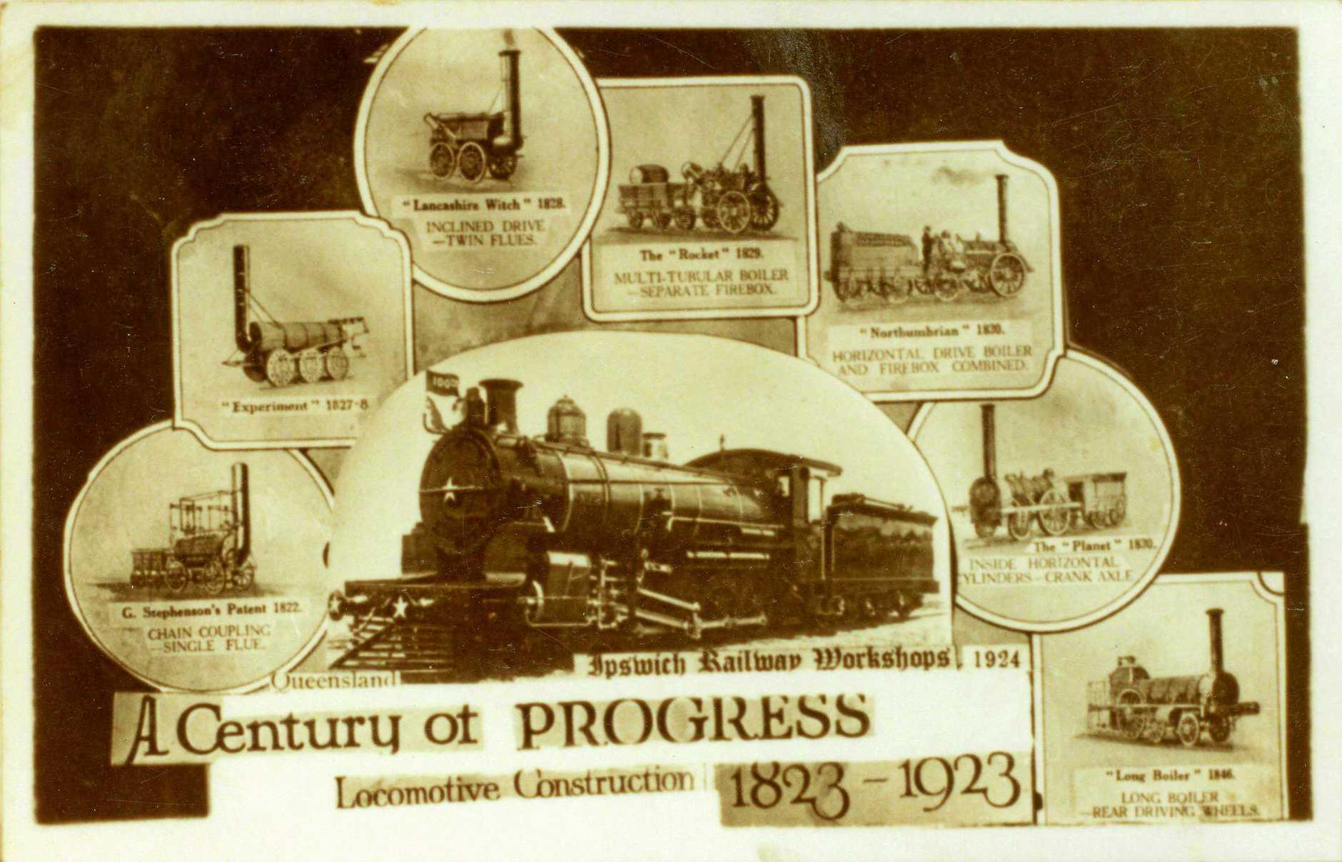 A century of Progress of Locomotive Construction 1823-1923 - Ipswich railway Workshops.
