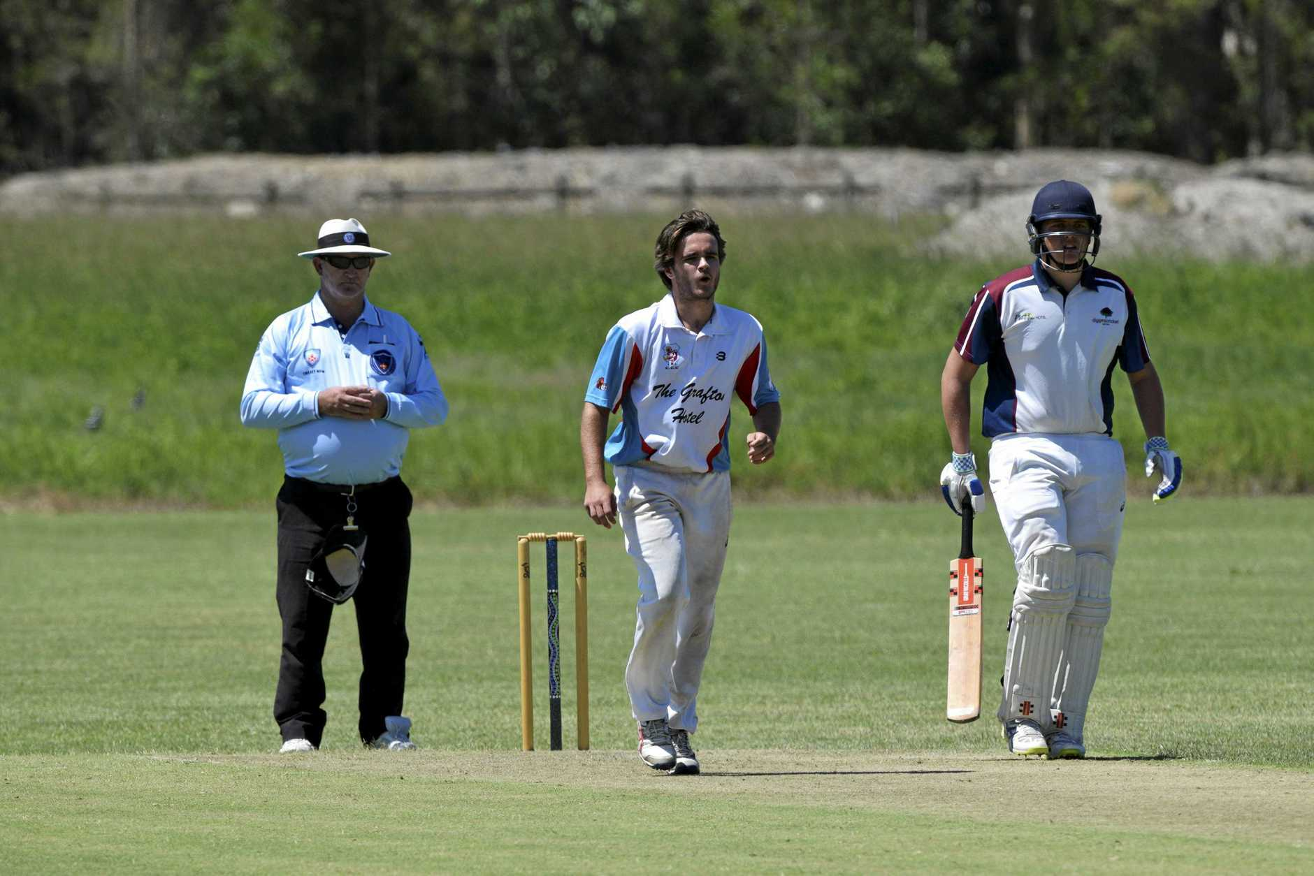 Eli Fahey bowled an incredible spell for the Coutts-Coffs Colts on Saturday against Diggers.
