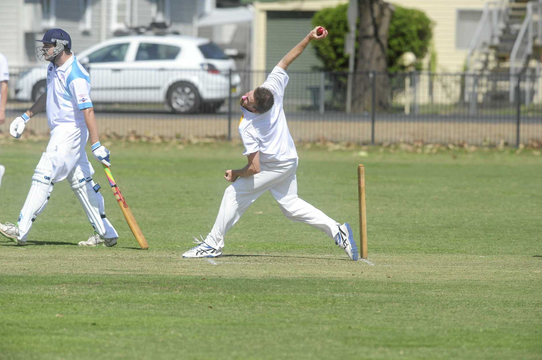 DOUBLE BLOW: Westlawn captain and lead seamer Nathan Blanch will also not be able to bowl after he tore a muscle in his hamstring last weekend.