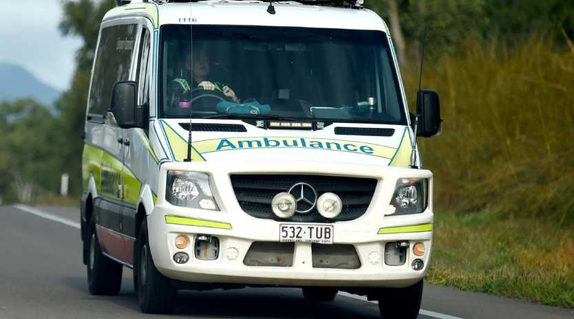 A man has died in hospital following a two vehicle crash in Caboolture on Monday