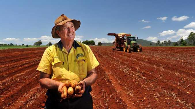 David Nix, an Atherton potato grower.