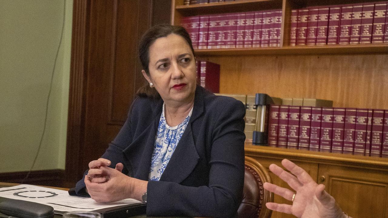 Queensland Premier Annastacia Palaszczuk. (AAP Image/Glenn Hunt)