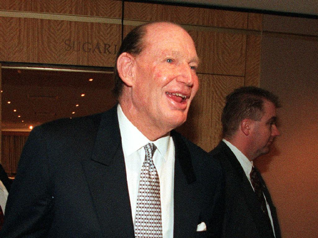 Mr Packer's father, the late Kerry Packer, owed a quarter-share of Mr Milchan's movie production house in the 1990s. Picture: Supplied