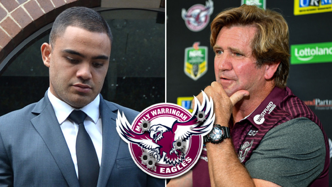 Dylan Walker has been stood down, forcing coach Des Hasler to draw on rookie players.