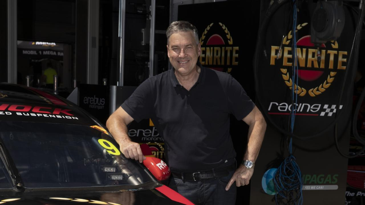 Neil Crompton: Readying for the Adelaide 500