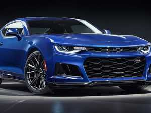 HSV's ready to launch manic new V8 Camaro supercar