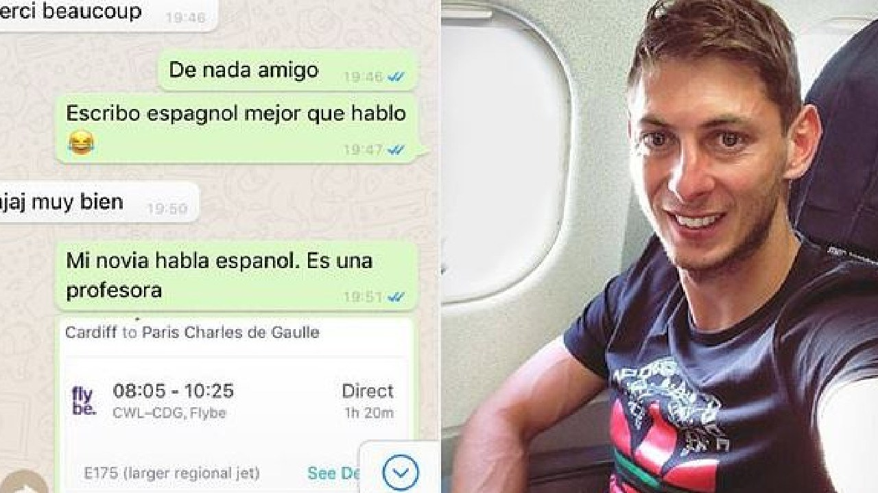 Sala turned down a commercial flight.