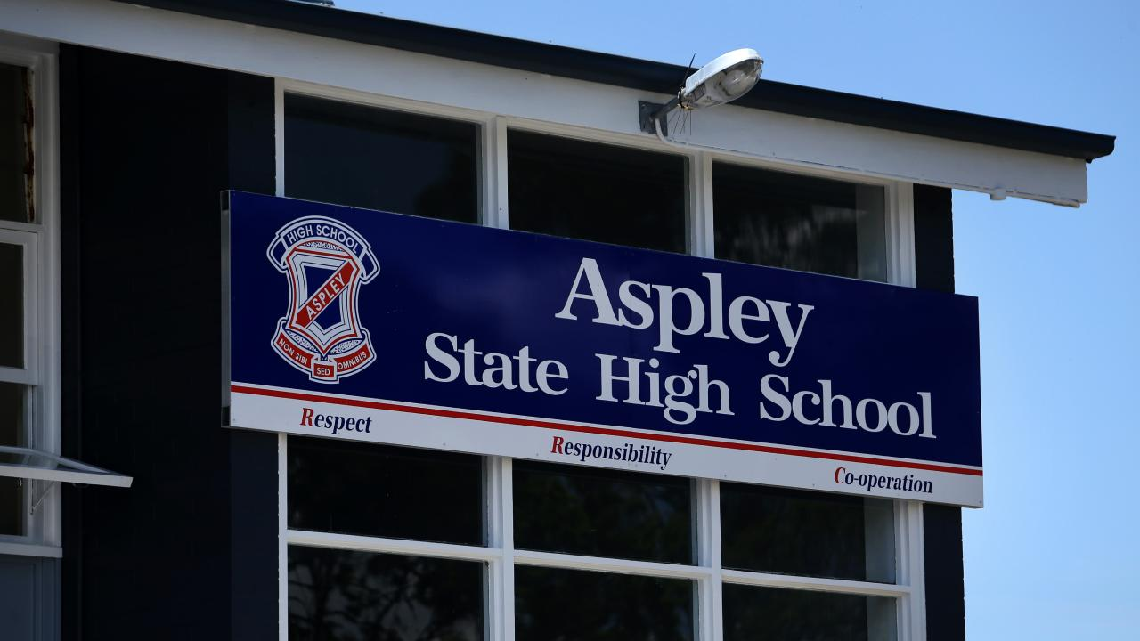 Aspley State High School. Picture: Tara Croser