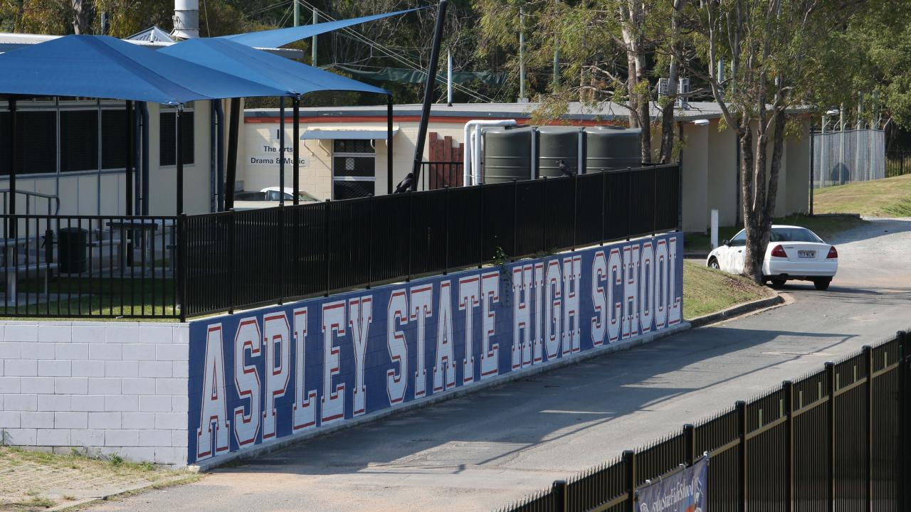 Aspley State High School. Picture: Jodie Richter