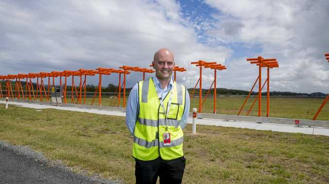 "Gold Coast Airport Operations and Service Delivery General Manager Brett Curtis said its implementation marked a ""significant"" milestone. Picture: Jerad Williams"