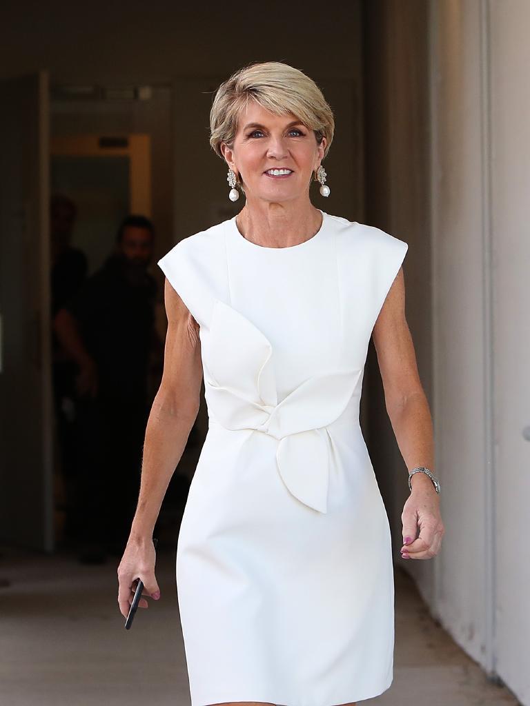 Julie Bishop resigned last week. Picture Kym Smith