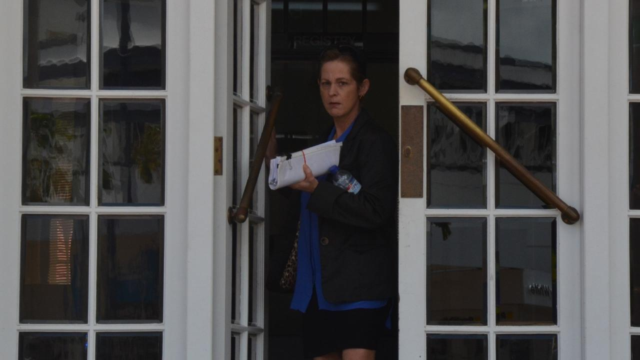 Irene Juhas leaves the Innisfail Magistrates Court on Friday after being sentenced for horrific animal cruelty charges. Pic: ELISABETH CHAMPION