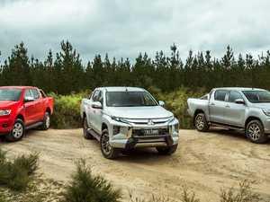 TEST: Mitsubishi Triton versus Toyota HiLux and Ford Ranger
