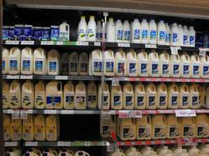 Farmers target Coles in protest over cheap milk