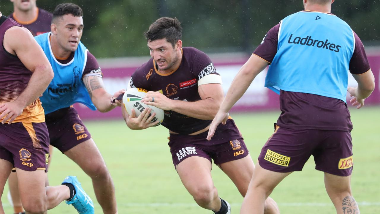 Matt Gillett says Broncos must improve. Picture: Peter Wallis
